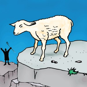 "INTERPOLATING JESUS' PARABLE of the ""LOST SHEEP"""